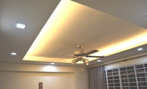 Sengkang 4rm apartment Living Room View 1 300x182 Lighting Special Deals: LED Downlights