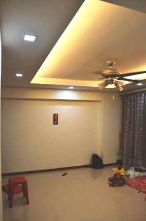 Sengkang 4rm apartment Living Room View 2 Lighting Special Deals: LED Downlights