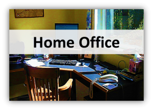 home office 300x217 Lights, Furniture & Deco