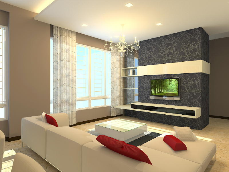 Interior design ideas 4 room hdb for Bedroom ideas hdb