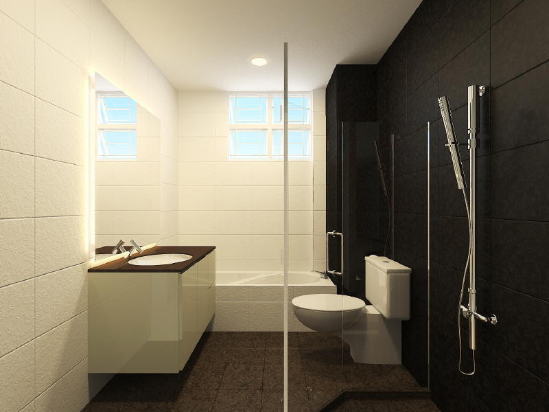 North Oaks Master Toilet edited 6 Interior Designs from DWorkz Group: North Oaks