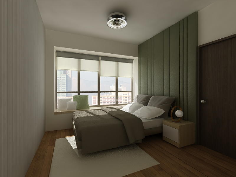 The Metz Master Bedroom 3 Interior Designs from DWorkz Group: The Metz