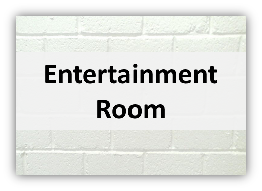 entertainment room Lights, Furniture & Deco