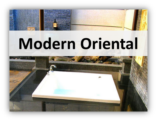 modern oriental Interior Designs