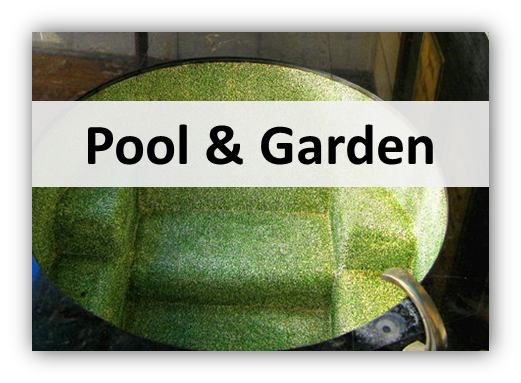 pool and garden Lights, Furniture & Deco