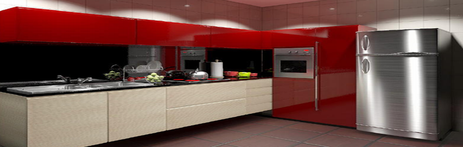 Kitchen Red 909x290 Home Appliances