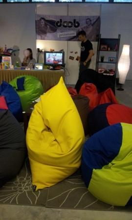 doob unique Bean Bags Products come in different materials and sizes too So Comfortable.... web Casa Kidi Grand Launch