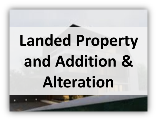 landed property and addition alteration Interior Designs