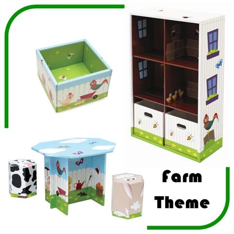 Farm Theme3 21st Century Furniture For Children