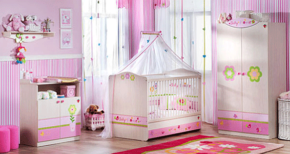 The Baby Flower Baby Bedroom Set