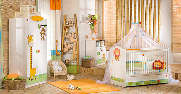 The Baby Safari Baby Bedroom Set Children Furniture: Bedroom Set for 0 to 3 years old