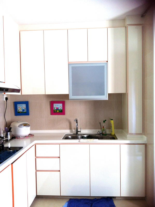 makeover for 3 bedrooms jurong west apartment home hub ForAbs Trimming Kitchen Cabinets