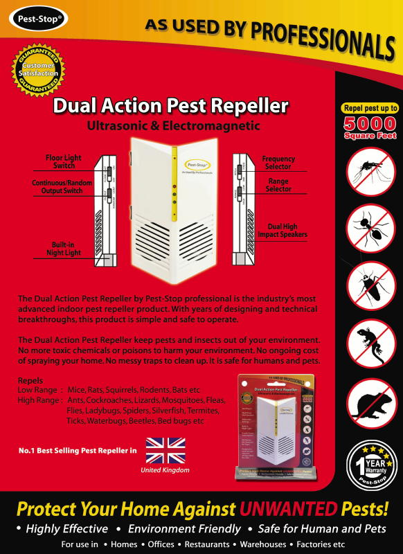 Olee Dual Action Pest Repeller 1 Olee Dual Action Pest Repeller (up to 5000 Square Feet)