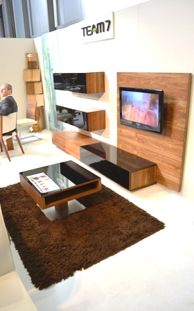 Living Room Spring Furniture And TV Console, Coffee Table With Glossy  Finishing By Team 7 Part 97