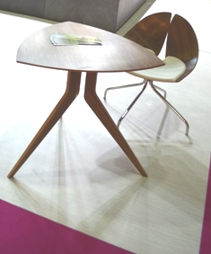 furniture Triangle table with 3 legs and wooden chari with 4 legs compress Beautiful and Unique Designs Furniture, Lighting