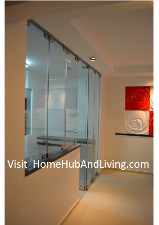 Official site of latest frameless doors system flying door designs indoor kitchen and living room side view of frameless door 212x300 official site of latest frameless planetlyrics Gallery