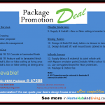 New DBSS Package (Promotion Package Deal)