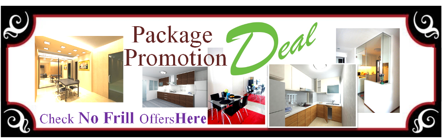 Package Promotion DEAL Banner HomeHubAndLiving.com  Interior Designs