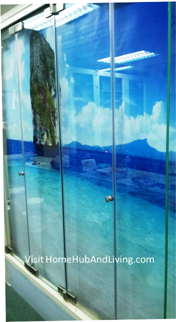Official site of latest frameless doors system flying for Window design solutions