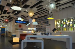MEGAMAN Designer Lightings Display 300x198 New MEGAMAN Concept Store Open in Kitchener Road