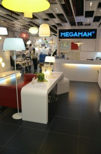 MEGAMAN Designer Lightings Display at Counter 198x300 New MEGAMAN Concept Store Open in Kitchener Road