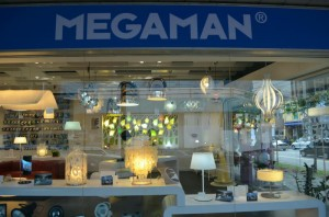 MEGAMAN Lightings Window Display 300x198 New MEGAMAN Concept Store Open in Kitchener Road