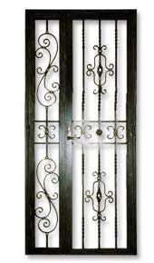 Wrought Iron Front Gate Door For Private Apartments Dbss