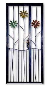 Wrought Iron Front Gate Door for Private Apartments, DBSS and HDB ...