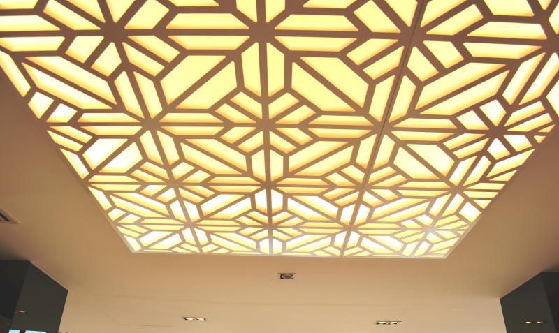 An Inviting Modern Oriental Ceilings Designs 1 Tanjong Rhu Penthouse Double Storey Modern Oriental Designer Style: Foyer
