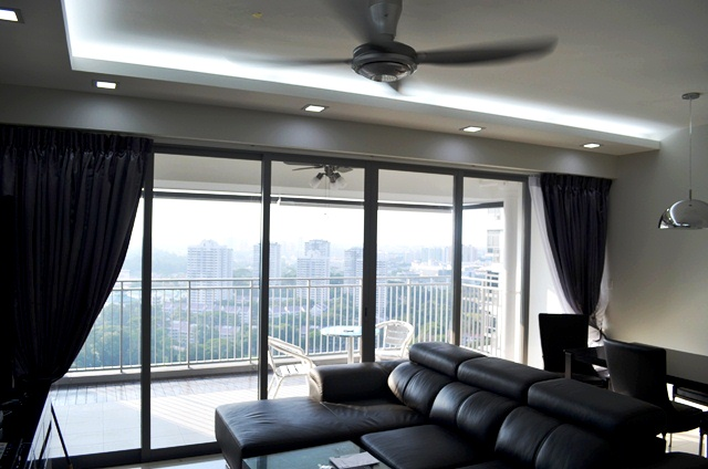 Modern Clic Black And White Design Concept The Peak Toa Payoh Hdb Dbss 5 Room Type C2a