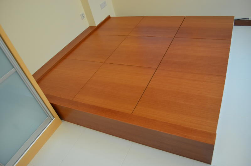 design and built tatami bed view 1