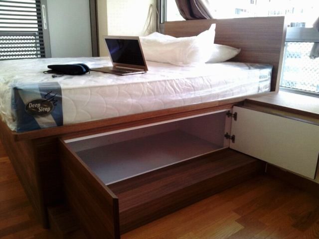 The Verve Shoes Box Studio Apartment Customize Bed