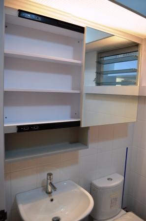 Brilliant UMD Carbon Steel Storage Shelving Rack For BathroomWashroom More