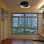 Overall View of MasterBed Room, L Box Cove Lighting with Modern Ceiling Hanging Lights