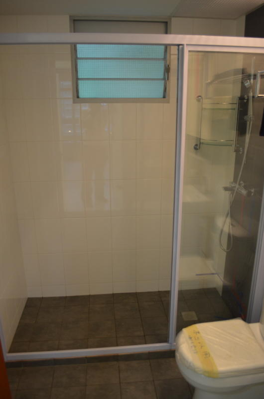 Exceptional ... Design For HDB 3 Room Type Apartment. Sliding Shower Screen (Clear  Tempered Glass) Part 29