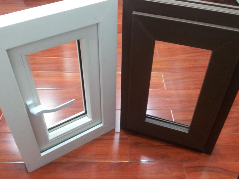 Upvc windows and doors for landed properties terraced for Brown upvc door