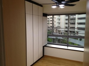 Built in wardrobe for bedroom 1 300x225 Modern Contemporary Design Concept The Peak @ Toa Payoh, HDB DBSS 5 Room, Type C1A