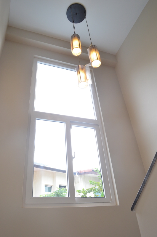 Staircase UPVC Windows uPVC Windows and Doors for landed properties, Terraced House, Semi Detached (Semi D) House, Bungalow House or GCB) and HDB
