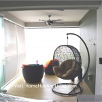 Singapore Private Property Fully Closed Frameless Door (Enjoy privacy in balcony area)