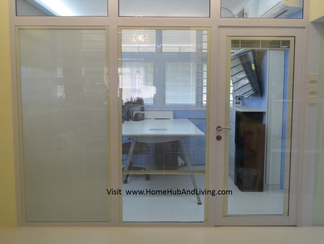 Singapore Smart Blinds System For Flexible Privacy And Open Concepts Suits  Different Designs (e.g Offices, Study Room, Partitions, Windows, Balcony  Doors, ...