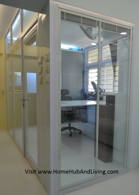 Smart Blinds fully raised blinds Small Singapore Smart Blinds System For Flexible Privacy and Open Concepts Suits Different Designs (e.g Offices, Study Room, Partitions, Windows, Balcony Doors, Patio and more ideas) Double Glazed Glass with Built in Blinds