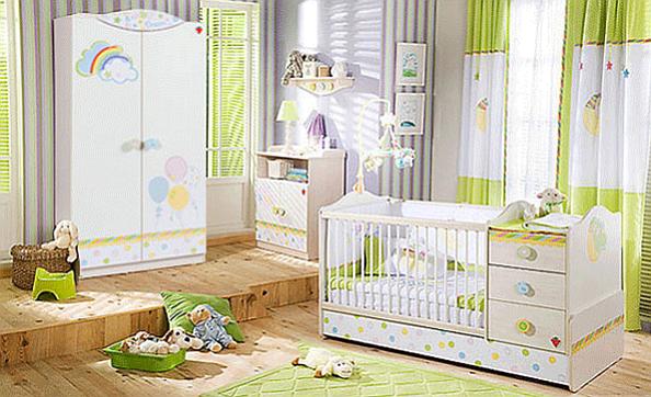 The Baby Dream Bedroom Set